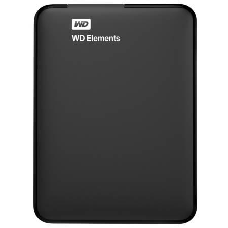 """Western Digital Elements Portable 2.5"""" 2TB USB 3.0 Black"""