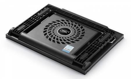 "Охлаждаща подложка за лаптоп DeepCool N9 black до 17"""
