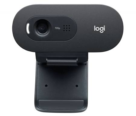 Logitech C505 HD Webcam - BLACK - EMEA