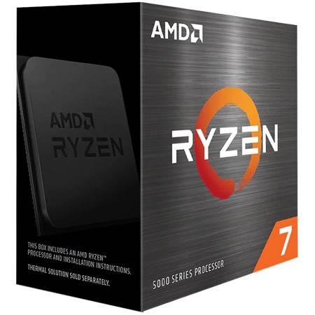 Процесор AMD Ryzen 7 8C/16T 5800X 3.8/4.7GHz Max Boost 36MB AM4 box 100-100000063WOF