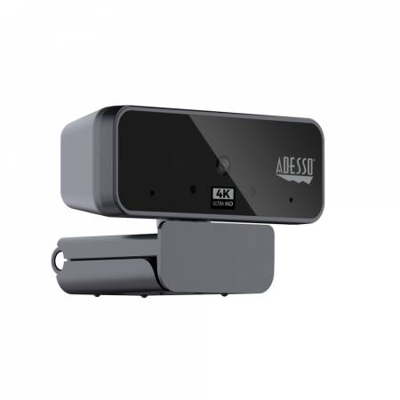 ADESSO CyberTrack H6 4K(8.0 Megapixel) Ultra HD USB Webcam with Auto focus