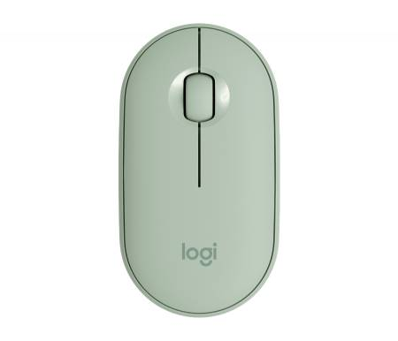 Logitech Pebble M350 Wireless Mouse - Eucalyptus - EMEA