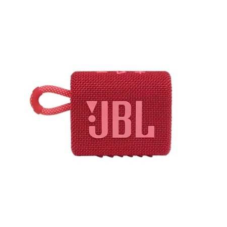 JBL GO 3 RED Portable Waterproof Speaker