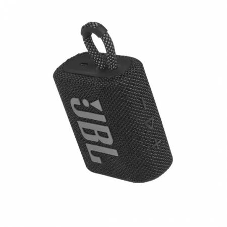 JBL GO 3 BLK Portable Waterproof Speaker