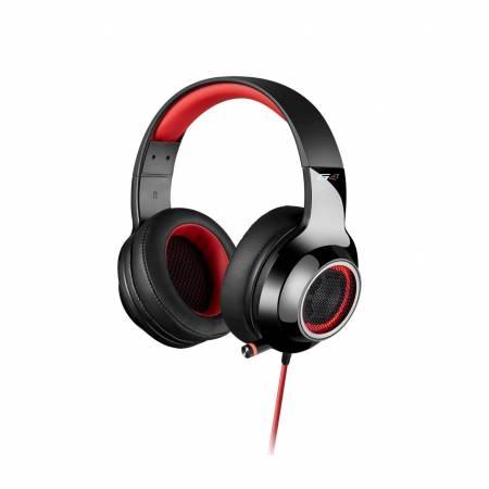 Геймърски слушалки с микрофон Edifier G4 червени