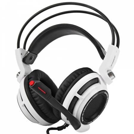 Геймърски слушалки с микрофон Somic G941 бели G941-W