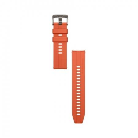 Huawei Vermilion Red Fluoroelastomer Strap for Watch GT2 pro