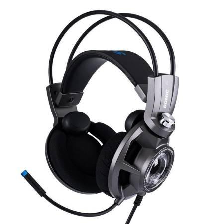 Геймърски слушалки с микрофон Somic G954