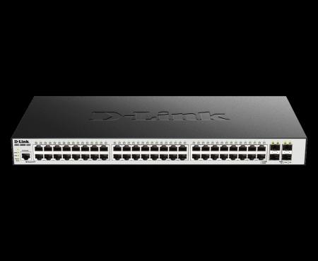 52 портов гигабитов L2 управляем комутатор D-Link DGS-3000-52X