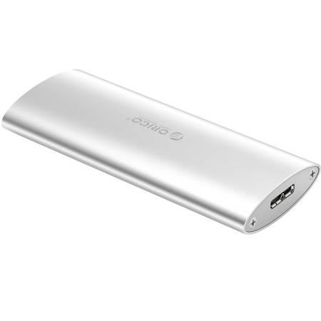 M.2 SSD кутия за диск Orico M2D-U3-SV USB 3.0 сребриста