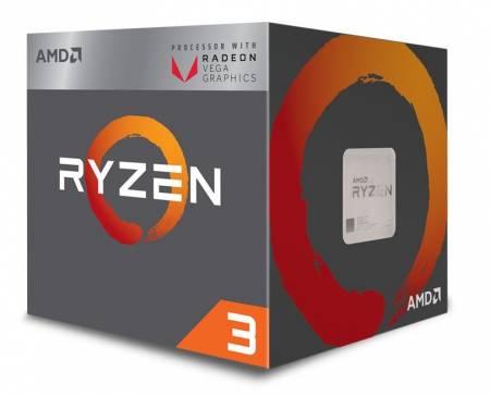 AMD CPU Desktop Ryzen 3 4C/4T 2200G