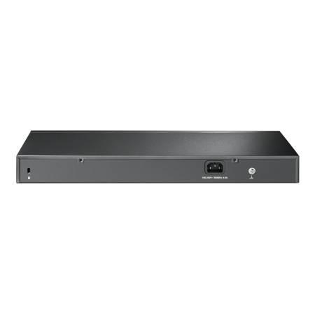 28-портов гигабитен управляем комутатор TP-Link JetStream PoE+ TL-SG2428P