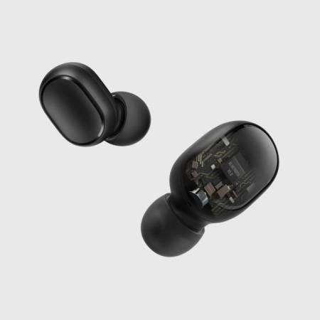 Безжични bluetooth слушалки Xiaomi Mi True Wireless Earbuds Basic S черни ZBW4502GL