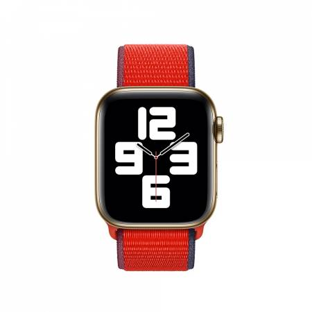 Apple Watch 40mm Band: (PRODUCT)RED Sport Loop (Seasonal Fall 2020)