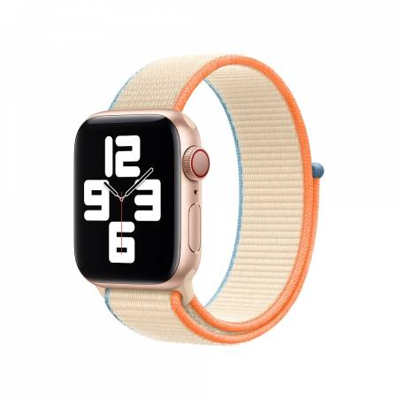 Apple Watch 40mm Band: Cream Sport Loop (Seasonal Fall 2020)