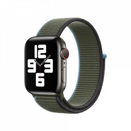Apple Watch 40mm Band: Inverness Green Sport Loop (Seasonal Fall 2020)