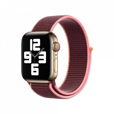 Apple Watch 40mm Band: Plum Sport Loop (Seasonal Fall 2020)