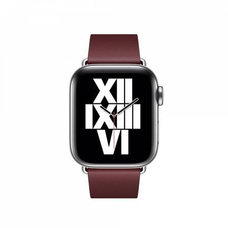Apple Watch 40mm Band: Garnet Modern Buckle - Medium (Seasonal Fall 2020)