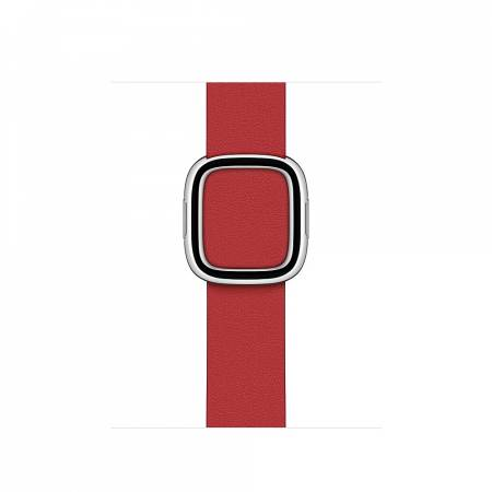 Apple Watch 40mm Band: Scarlet Modern Buckle - Small (Seasonal Fall 2020)
