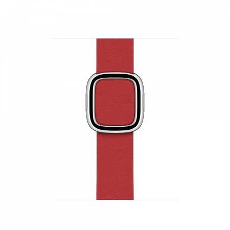 Apple Watch 40mm Band: Scarlet Modern Buckle - Medium (Seasonal Fall 2020)
