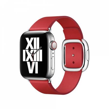 Apple Watch 40mm Band: Scarlet Modern Buckle - Large (Seasonal Fall 2020)