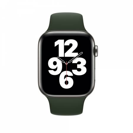 Apple Watch 44mm Band: Cyprus Green Sport Band - Regular (Seasonal Fall 2020)