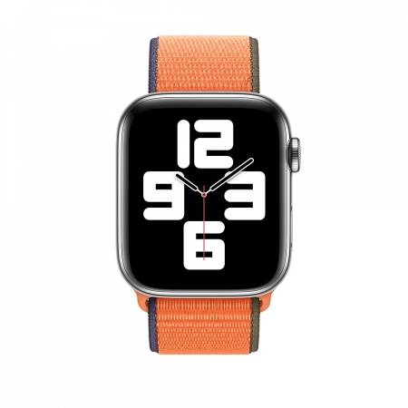 Apple Watch 44mm Band: Kumquat Sport Loop (Seasonal Fall 2020)