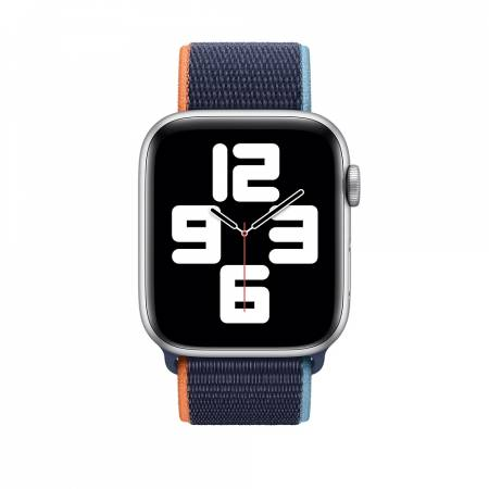 Apple Watch 44mm Band: Deep Navy Sport Loop (Seasonal Fall 2020)