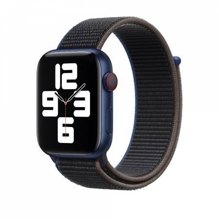 Apple Watch 44mm Band: Charcoal Sport Loop (Seasonal Fall 2020)