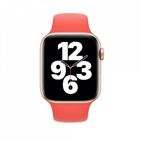 Apple Watch 44mm Band: Pink Citrus Sport Band - Regular (Seasonal Fall 2020)