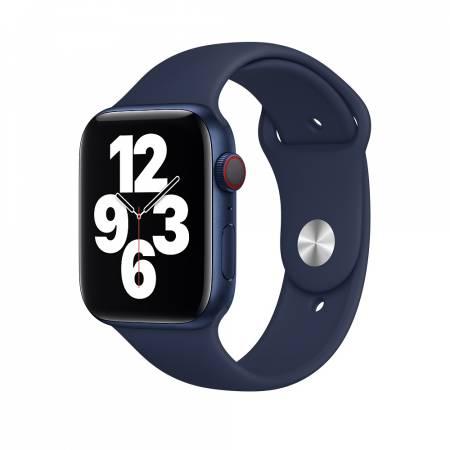 Apple Watch 44mm Band: Deep Navy Sport Band - Regular (Seasonal Fall 2020)