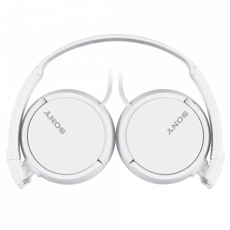 Слушалки с микрофон Sony Headset MDR-ZX110AP white MDRZX110APW.CE7
