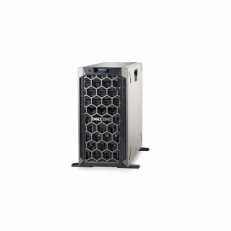 Dell EMC PowerEdge T340/Chassis 8 x 3.5 HotPlug/16GB/1x480GB SSD/Casters/Bezel/DVD RW/PERC H330/iDRAC9 Exp/Redundant 495W/3Y Basic Onsite