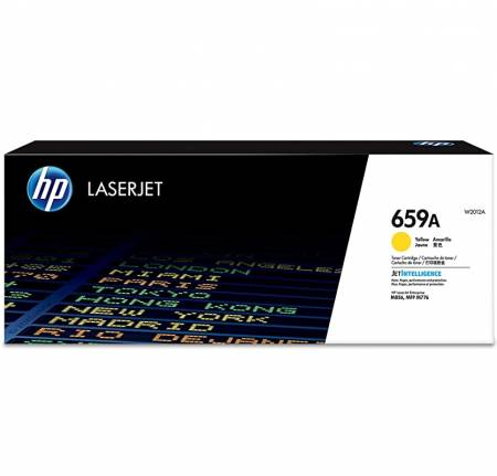 HP 659A Yellow Original LaserJet Toner Cartridge