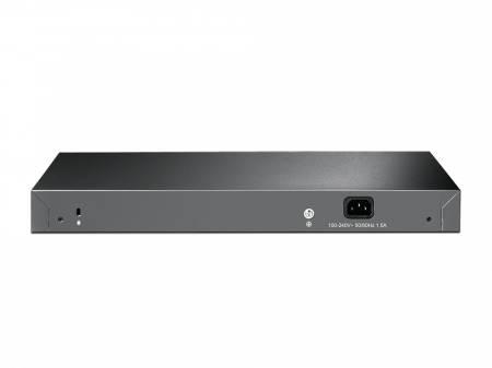 12-портов 10G интелигентен комутатор TP-Link JetStream T1700X-16TS с 4 SFP+ слота