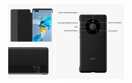 Huawei Smart view Flip Cover Mate 40 pro Basalt Black