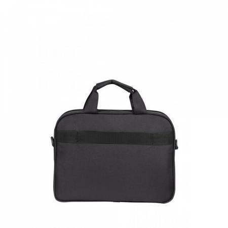 "Samsonite At Work Laptop Bag 33.8-35.8cm/13.3-14.1"" Black/Orange"