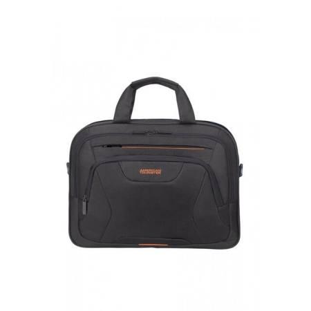 "Samsonite At Work Laptop Bag 39.6cm/15.6"" Black/Orange"