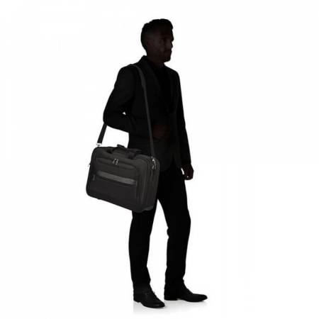 "Samsonite Vectura Evo Briefcase 15.6"" Black"