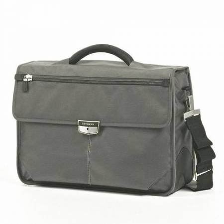 "Samsonite Business computer case with 3 gussets Avior for a 16.4"" Light grey"