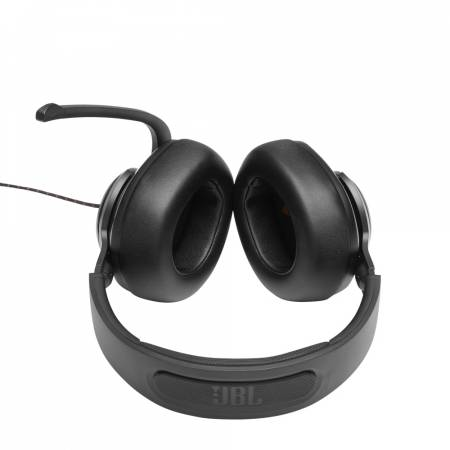 Геймърски слушалки с микрофон JBL QUANTUM 200 BLK over-ear JBLQUANTUM200BLK