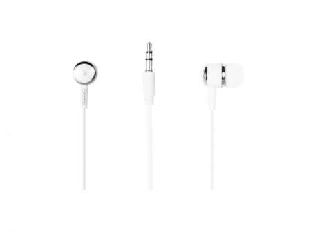 Слушалки Canyon Stereo earphones with mic CNE-CEPM01W