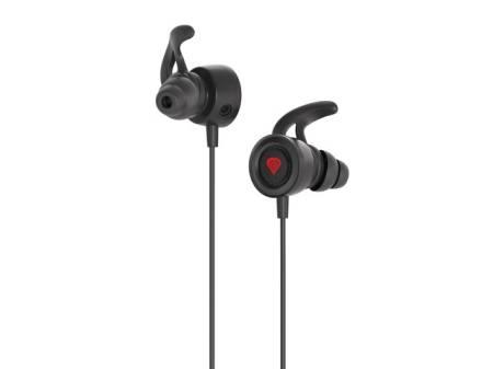Genesis Earphones Oxygen 200 With Microphone Stereo Black