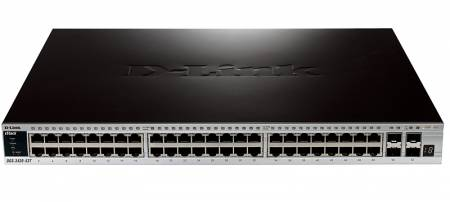 52-портов управляем Stackable Gigabit комутатор D-Link DGS-3420-52T