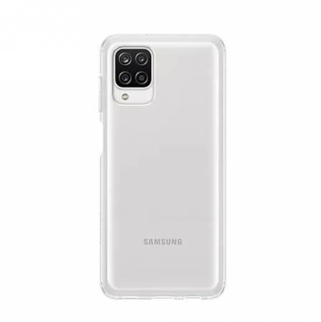 Samsung A12 Soft Clear Cover Transperant