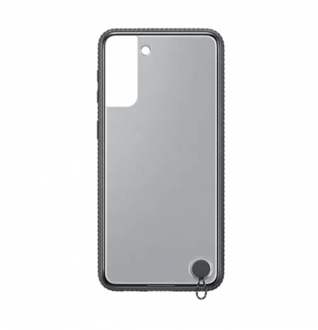 Samsung S21+ Clear Protective Cover Black