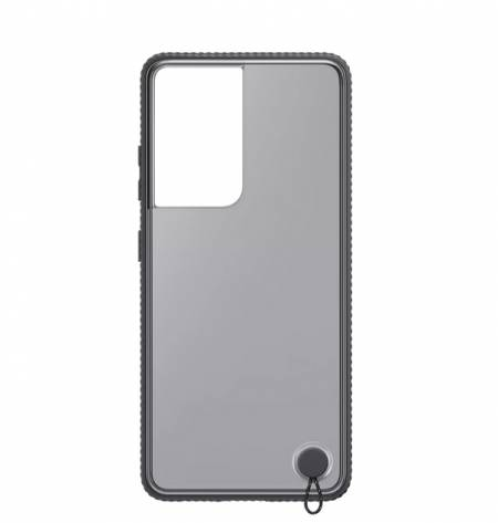 Samsung S21Ultra Clear Protective Cover Black
