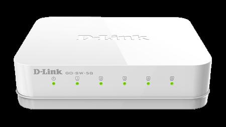 Комутатор D-Link GO-SW-5G/E 5 Port Copper Gigabit Ethernet GO-SW-5G/E