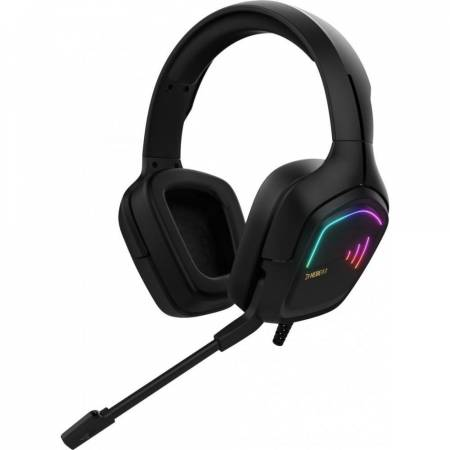 RGB геймърски слушалки с микрофон Gamdias Hebe E2