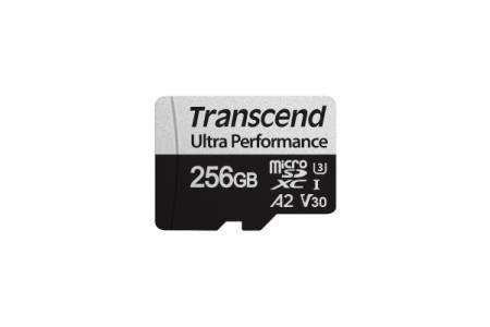 Transcend 256GB microSD w/ adapter UHS-I U3 A2 Ultra Performance